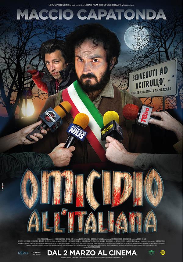 Omicidio All'Italiana Poster Italia