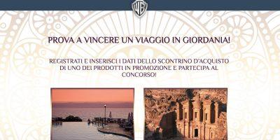 Vinci un viaggio in Giordania con Feltrinelli e il grande cinema Warner Bros.