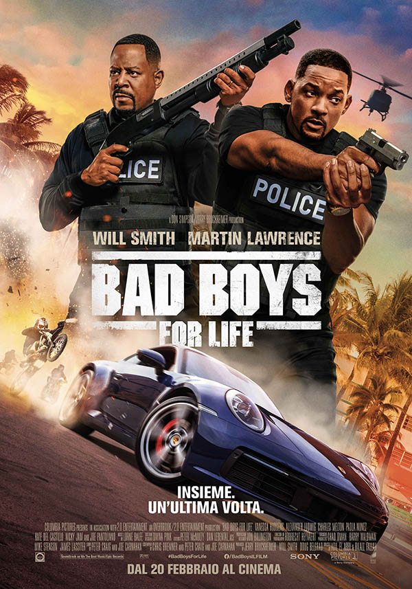 Bad Boys for Life Poster Italia