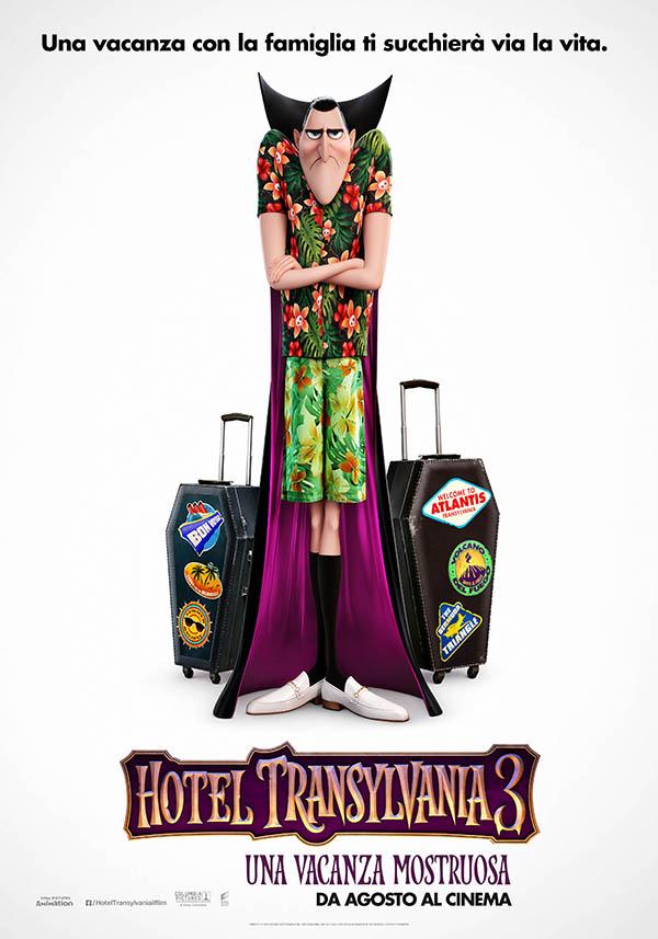 Hotel Transylvania 3 Teaser Poster Italia