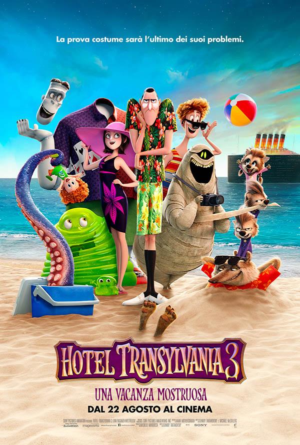 Hotel Transylvania 3   Una vacanza mostruosa Poster Italia