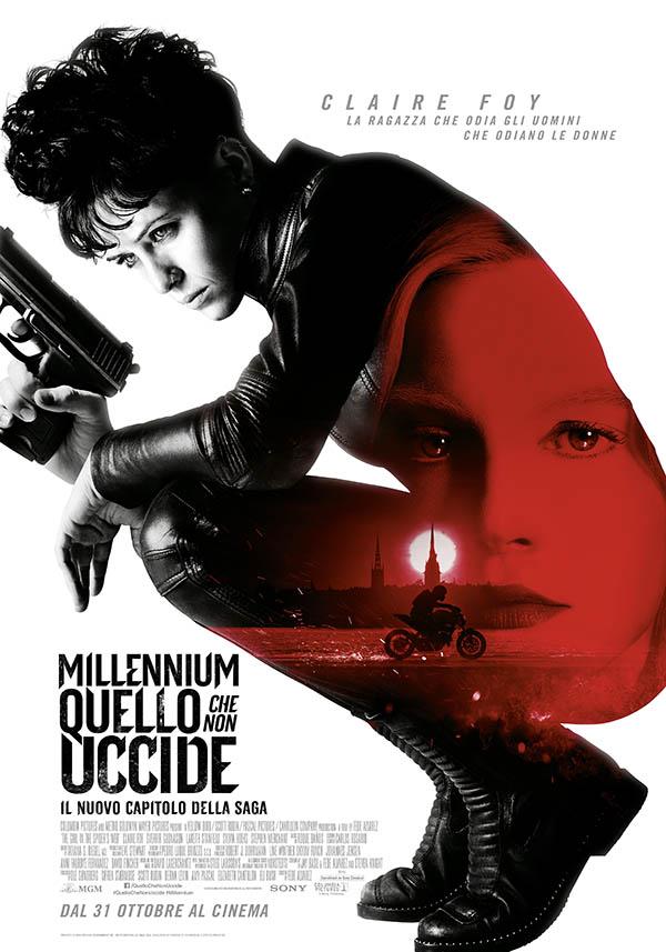 Millennium - Quello che non uccide_Poster Italia