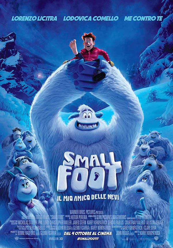 Smallfoot   il mio amico delle nevi Poster Italia