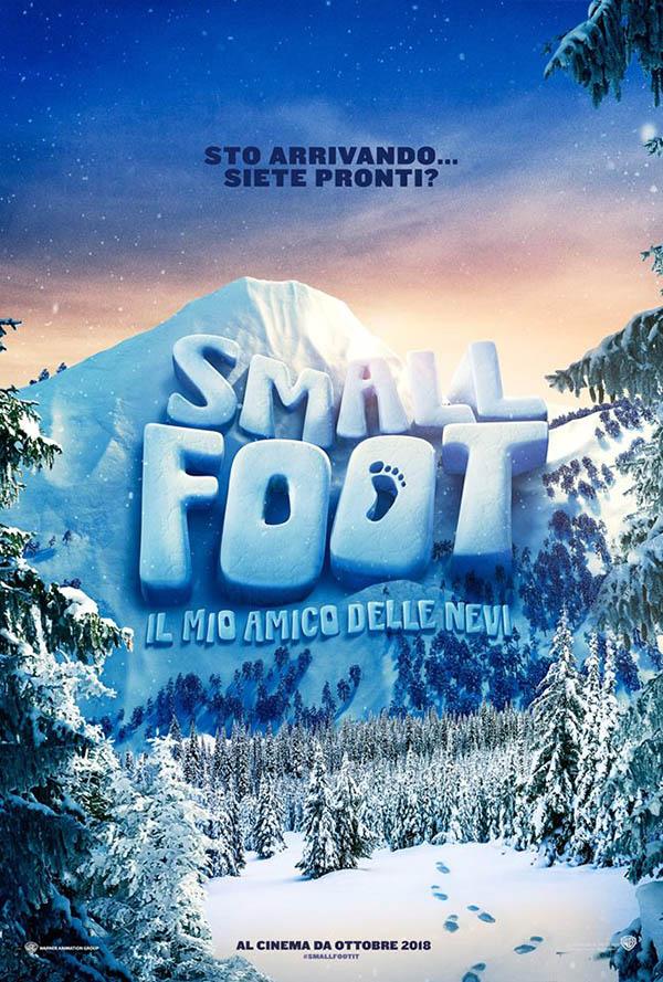 Smallfoot   il mio amico delle nevi_Teaser Poster Italia
