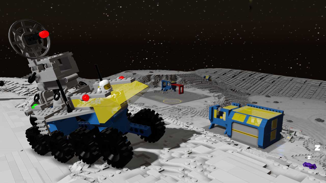 "LEGO Worlds pacchetto DLC ""Classic Space"" - Screenshot"