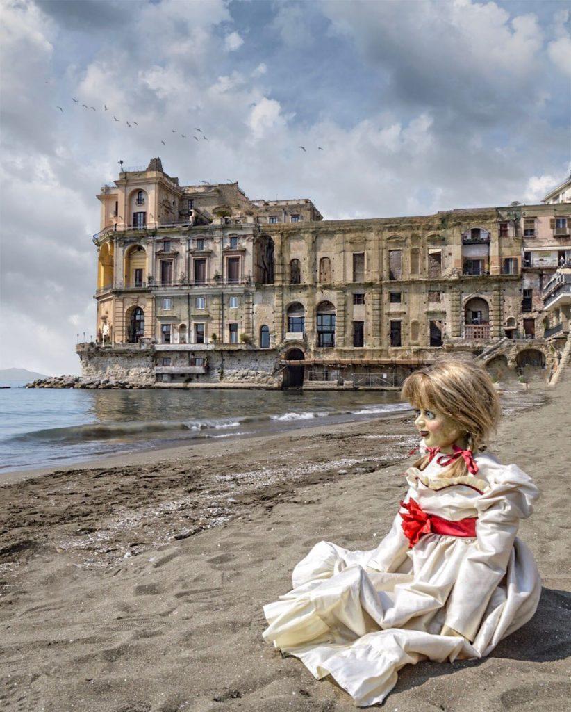 Annabelle 2 Creation - Il tour - Napoli Palazzo Donn'Anna photo by Marco Lucignano