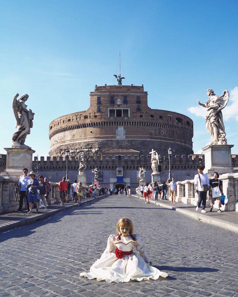 Annabelle 2 Creation - Il tour - Roma Castel Sant'Angelo photo by Matteo Acitelli