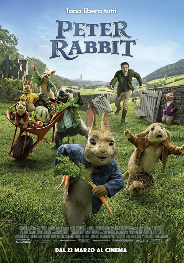 Peter Rabbit Poster Italia 1