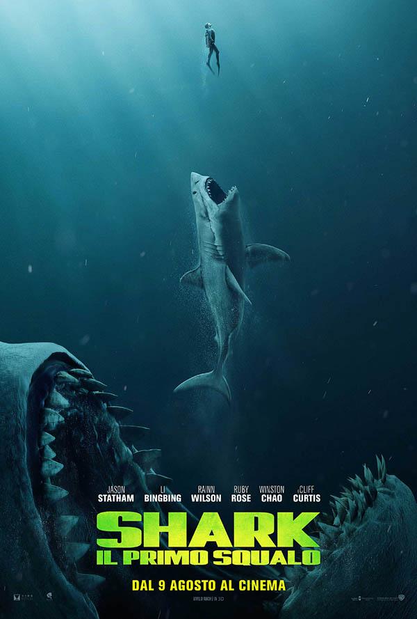 Shark   Il primo Squalo_Teaser Poster Italia