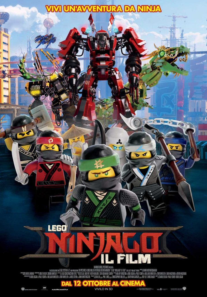 Lego Ninjago il Film - Pos
