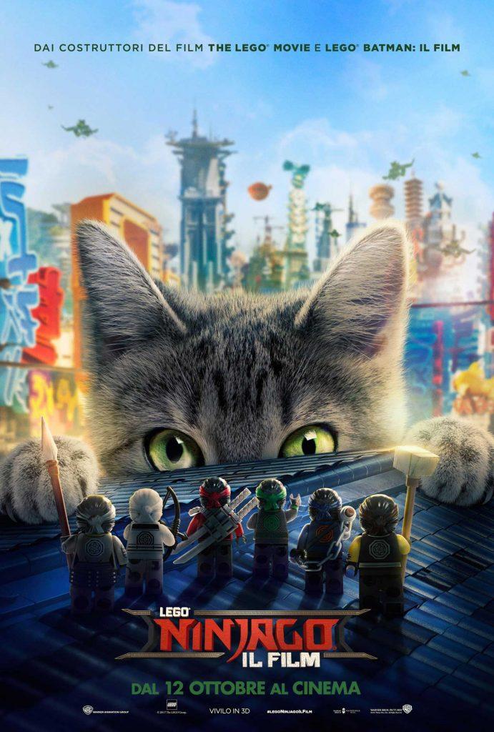 LEGO NINJAGO IL FILM - Nuovo Poster Ufficiale