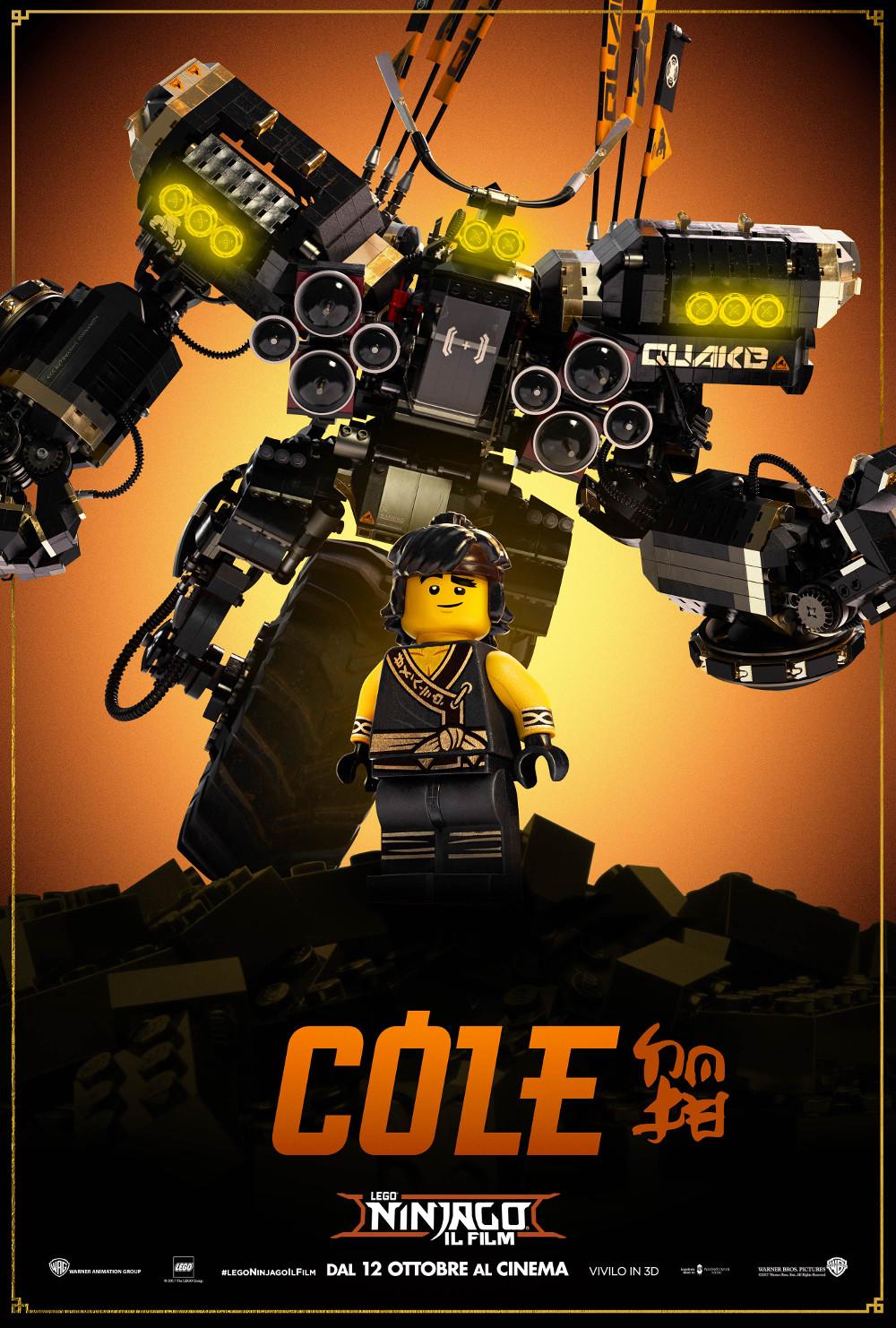 Movie Poster jackie chan movie poster : LEGO NINJAGO IL FILM - I Mech Character Poster Italiani