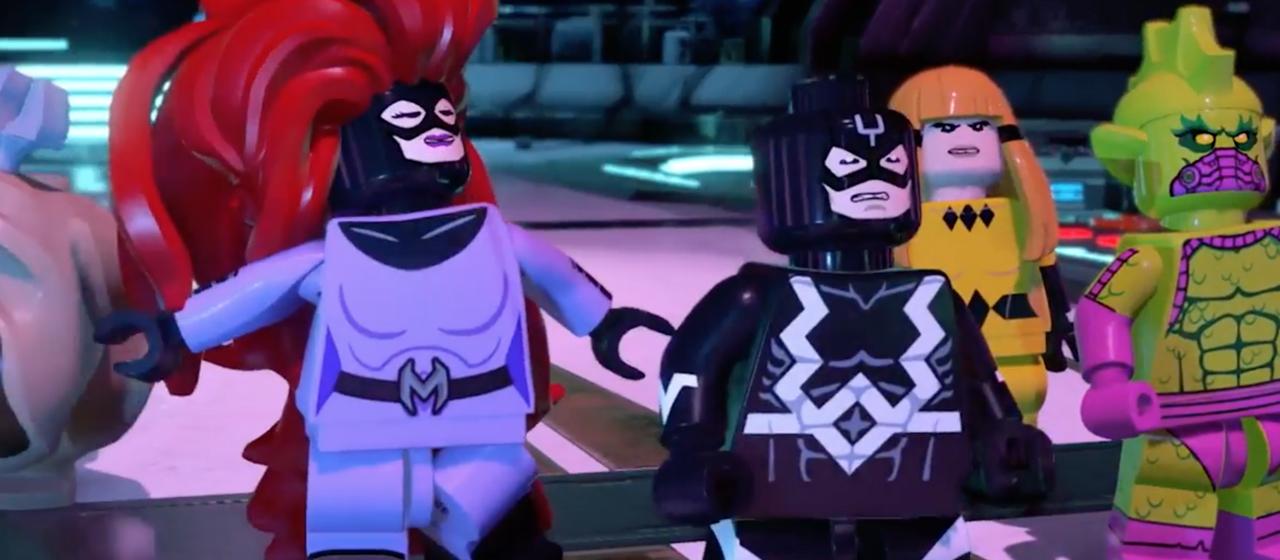 LEGO Marvel Super Heroes 2 – Screenshot dal Video: Inumani della serie Marvel