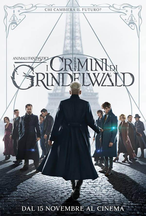Animali Fantastici I Crimini di Grindelwald_Poster Italia 2