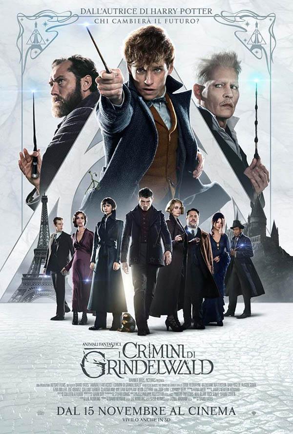 Animali Fantastici   I Crimini di Grindelwald_Poster Italia
