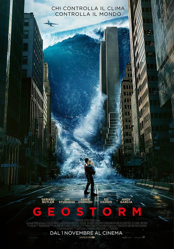 Geostorm Poster Italia