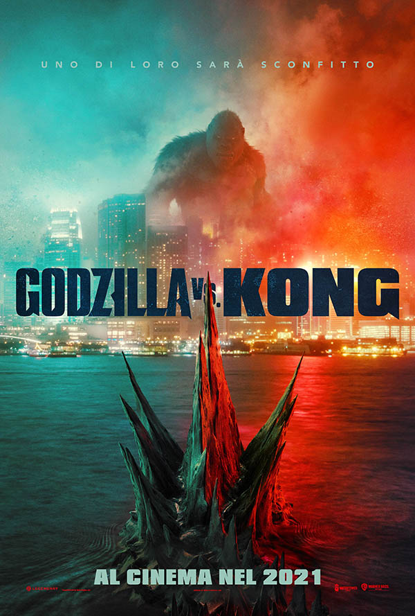 Godzilla VS Kong_Teaser Poster Italia