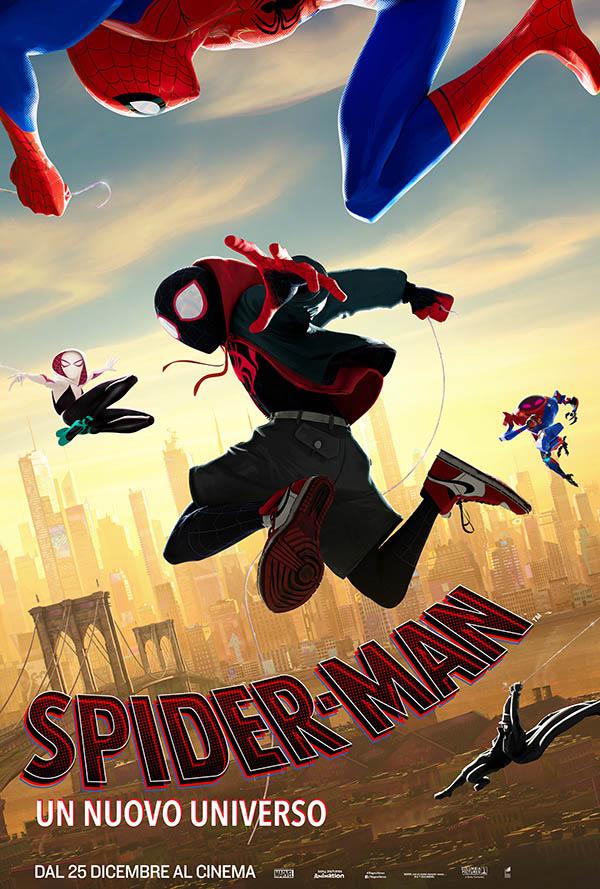Spider Man Un Nuovo Universo_Poster Italia