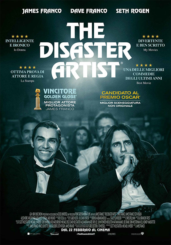 The disaster artist_Nuovo Poster Italiano