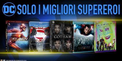 I supereroi Dc Comics e i grandi film per la famiglia a un prezzo speciale grazie a Warner Bros. ed Esselunga