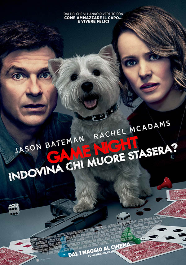 Game Night   Indovina chi muore stasera Poster Italia