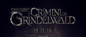 Animali Fantastici: I crimini di Grindewald - Il logotitolo italiano
