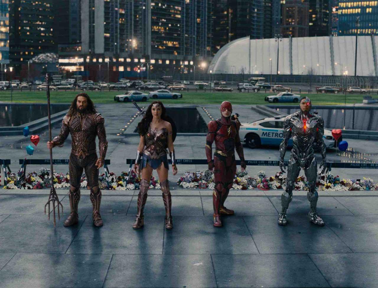Justice League - Foto Ufficiale del film