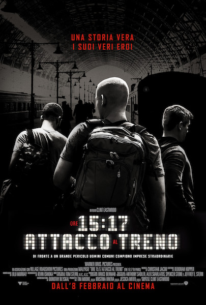 Ore 1517 – Attacco al treno_Poster Italia