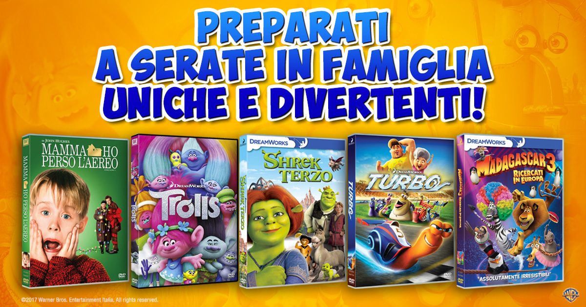 Promo Family Warner Bros. Esselunga