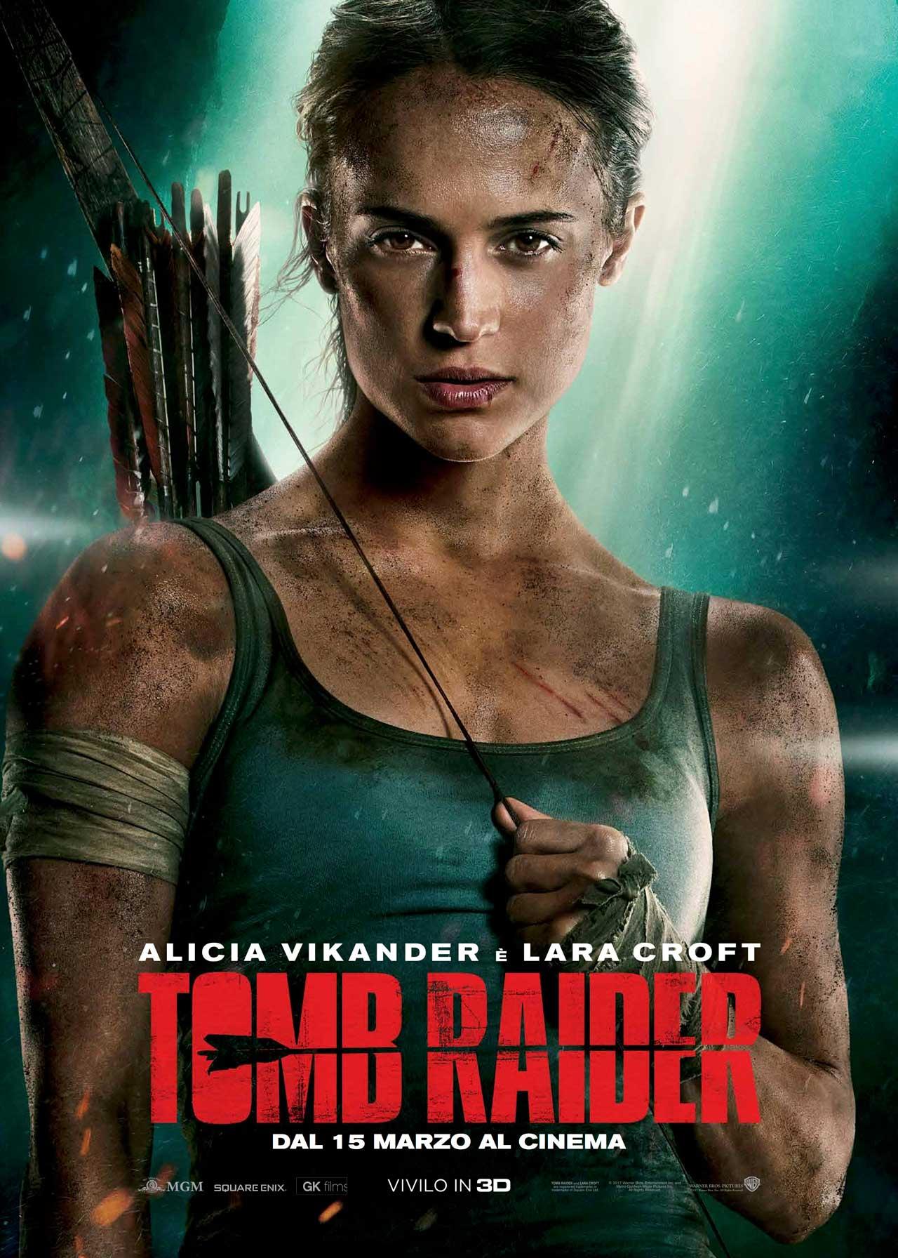 Tomb Raider - Poster Ufficiale Italiano del Film