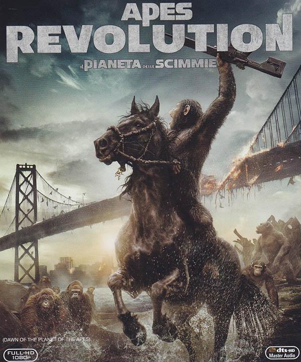 Apes revolution_Poster