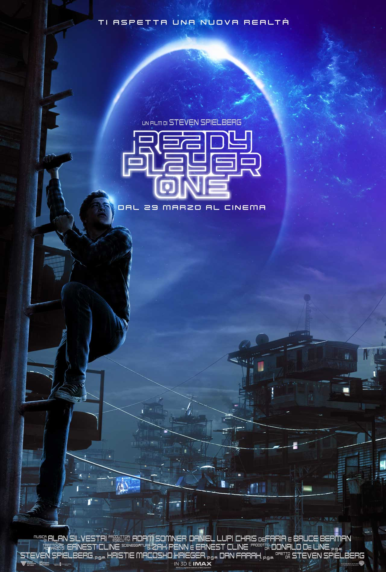 Ready Player One - Teaser Poster Italiano del Film