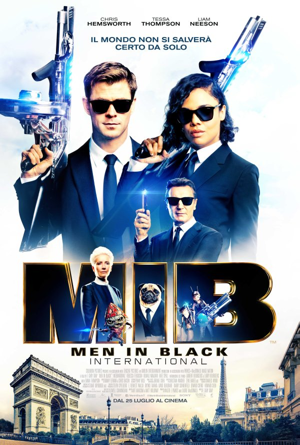 MIB INTERNATIONAL Poster Italia