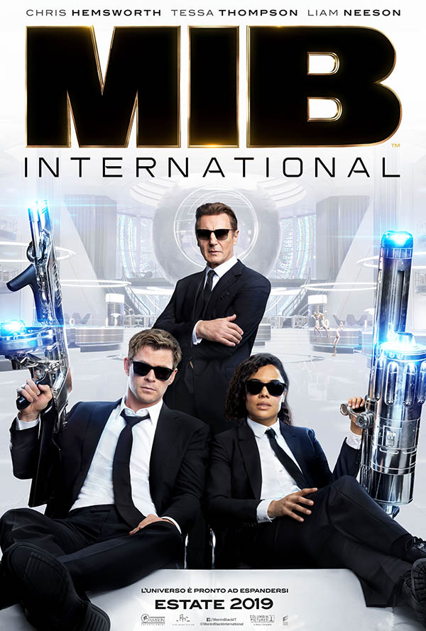 Men in Black International_Teaser Poster Italia