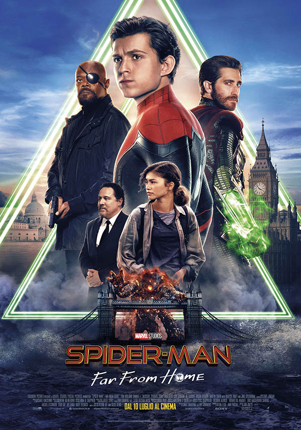Spider Man Far From Home_Poster Italia