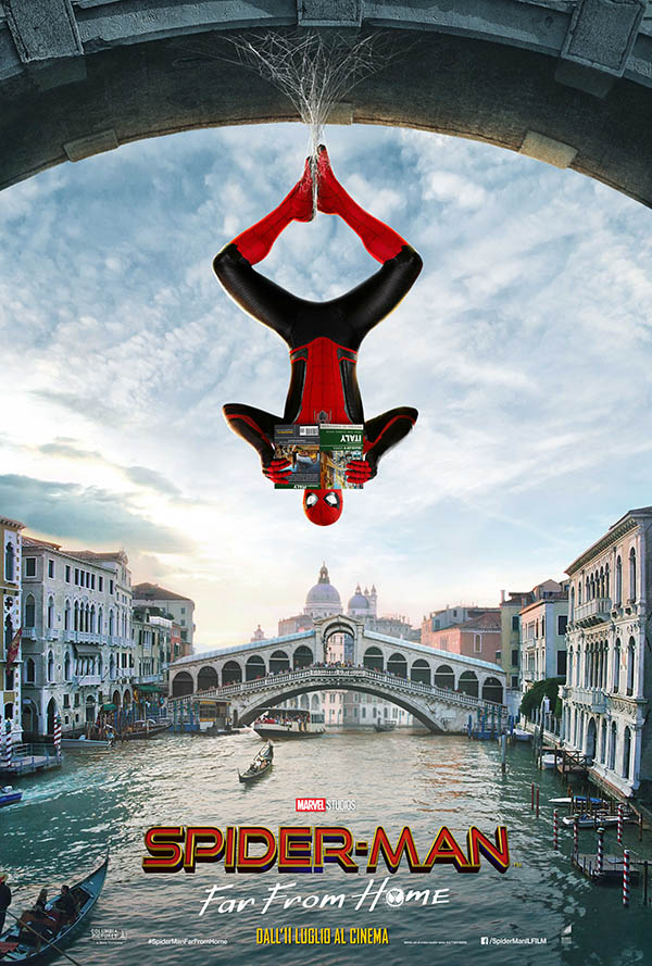 Spider Man   Far From Home_Teaser Poster Italia 1