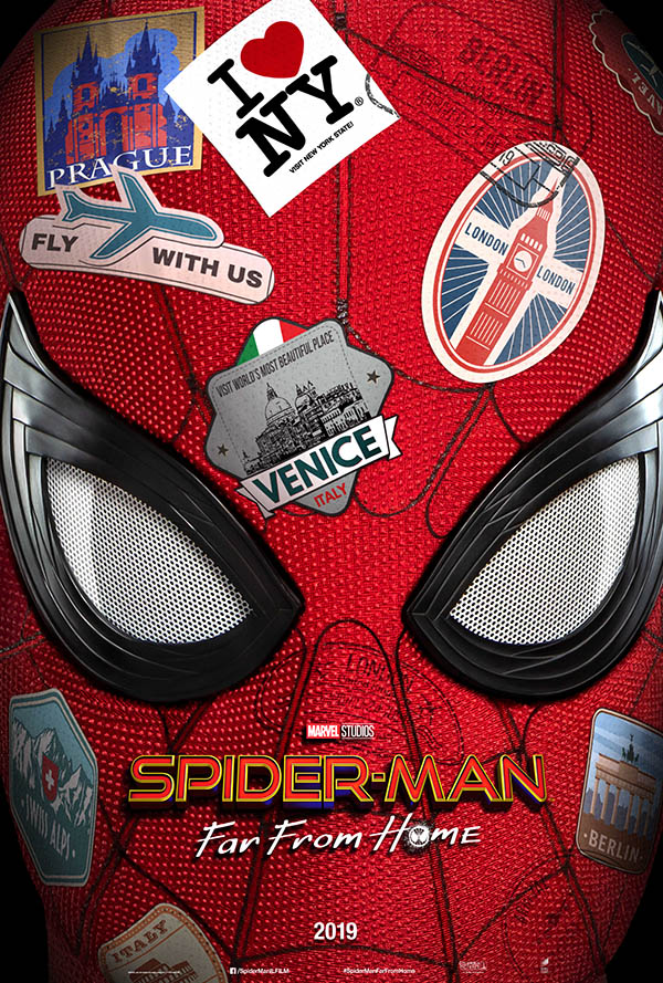 Spider Man Far From Home_Teaser Poster Italia