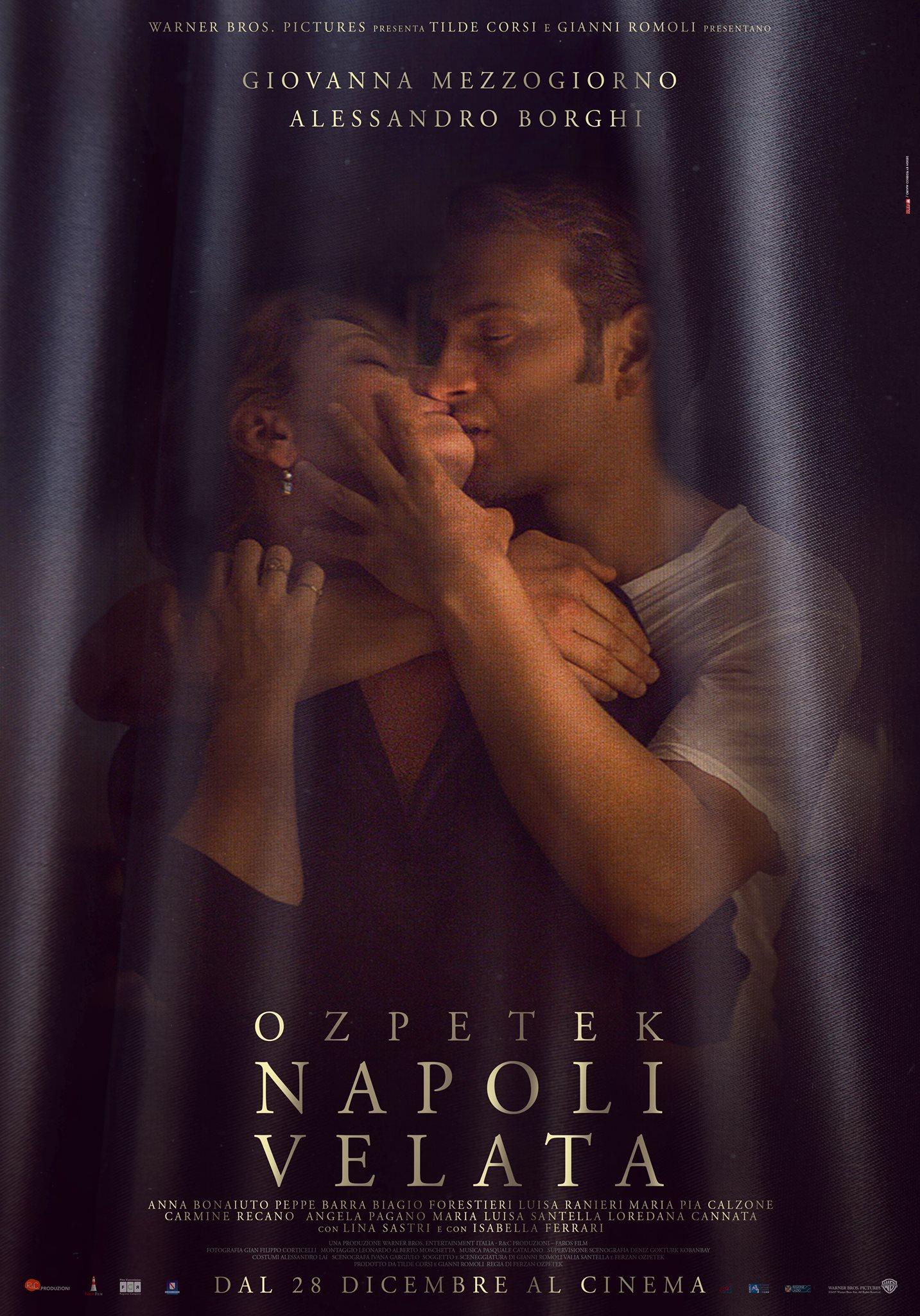 Napoli Velata  - Poster Ufficiale Italiano del film