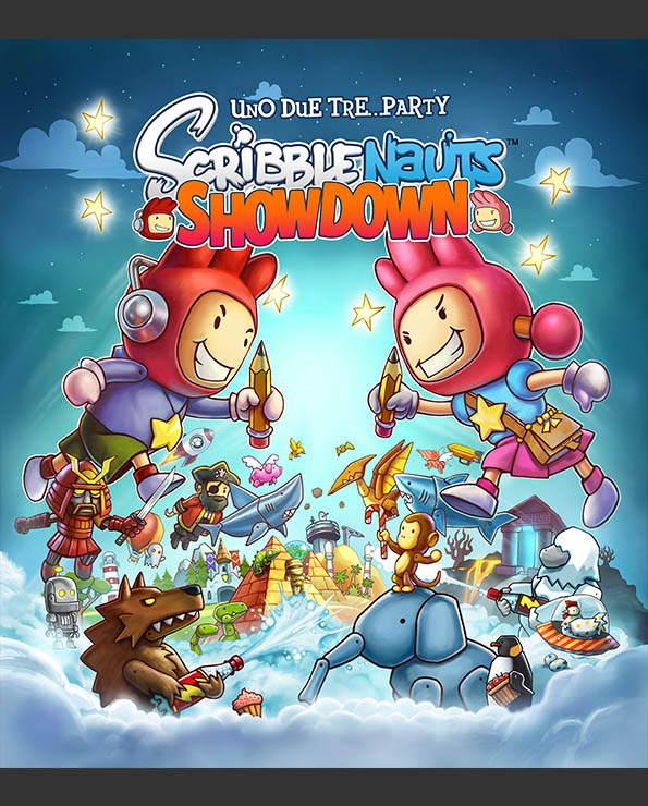 Scribblenauts Showdown_Poster