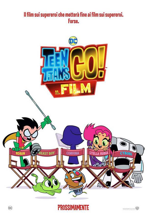 Teen Titans GO! Il film_Teaser Poster Italia