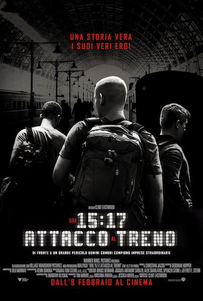 Ore 15:17 - Attacco al treno - Poster Ufficiale Italiano del Film