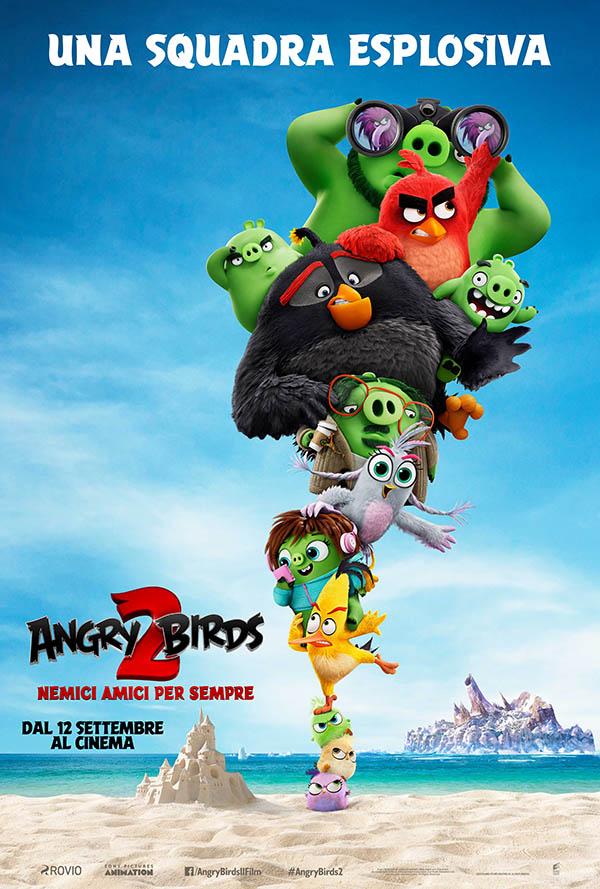 Angry Birds 2 – Nemici Amici per Sempre Poster Italia