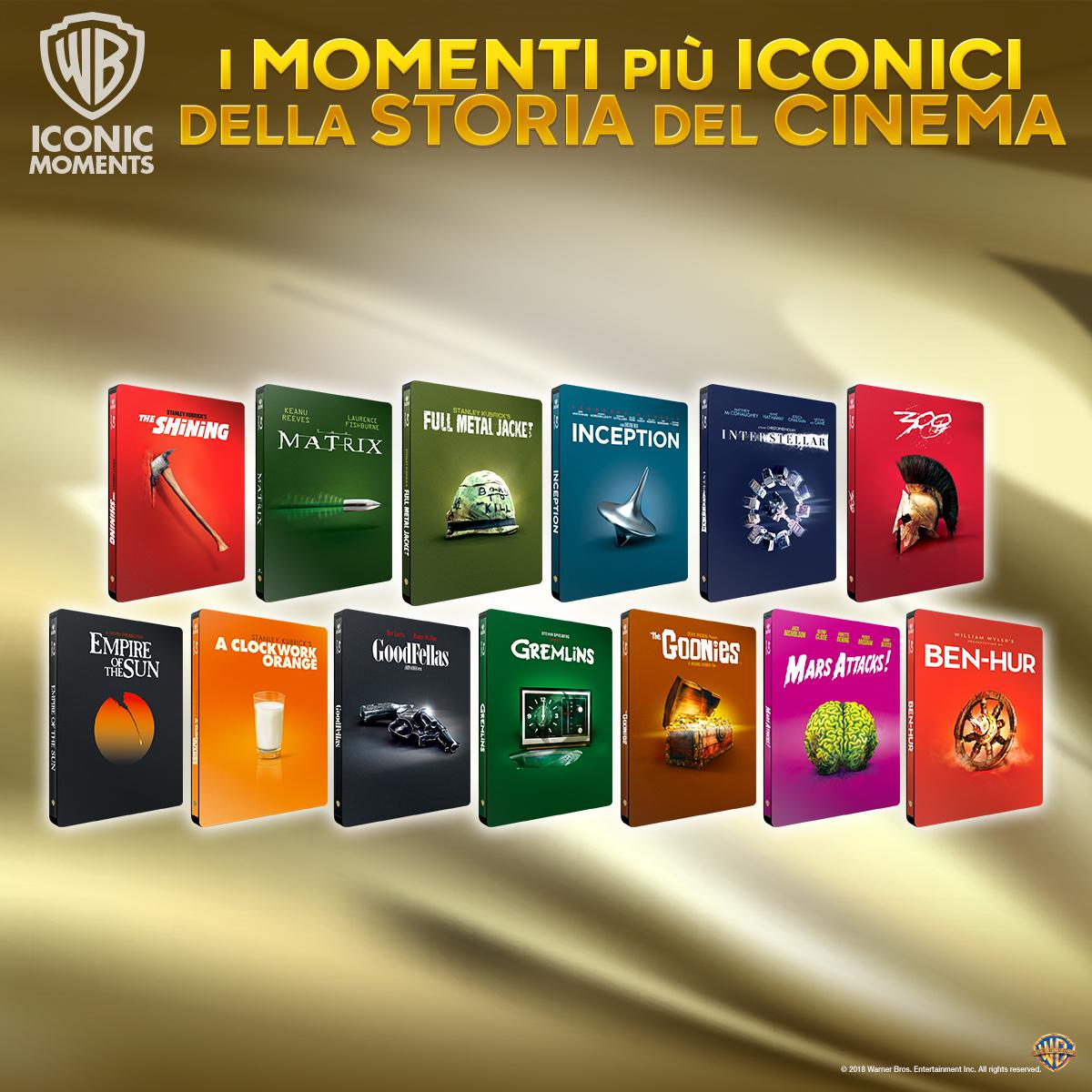 Iconic Moments - Steelbook