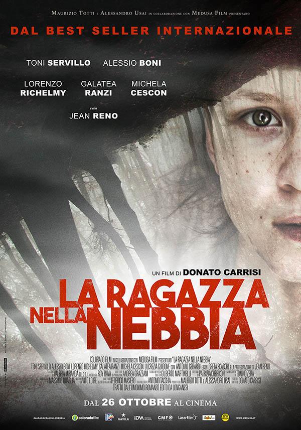 La ragazza nella nebbia_Poster Italia