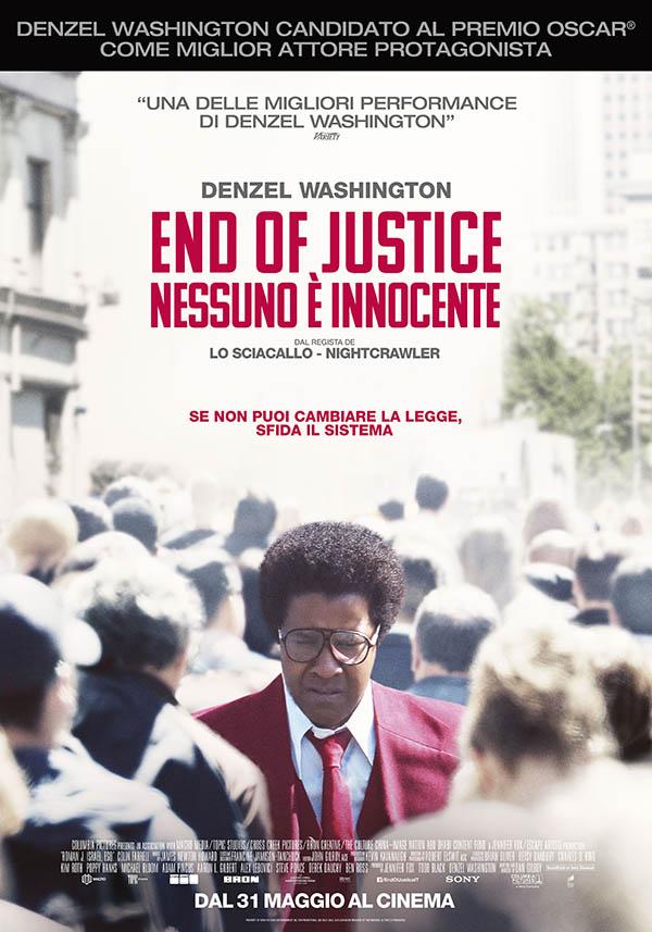End of Justice   Nessuno è innocente_Poster Italia