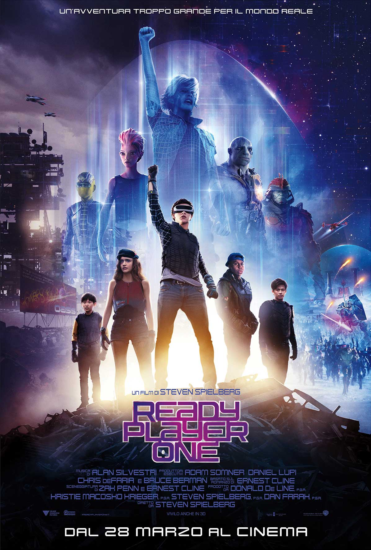 Ready Player One - Nuovo Poster Ufficiale Italiano