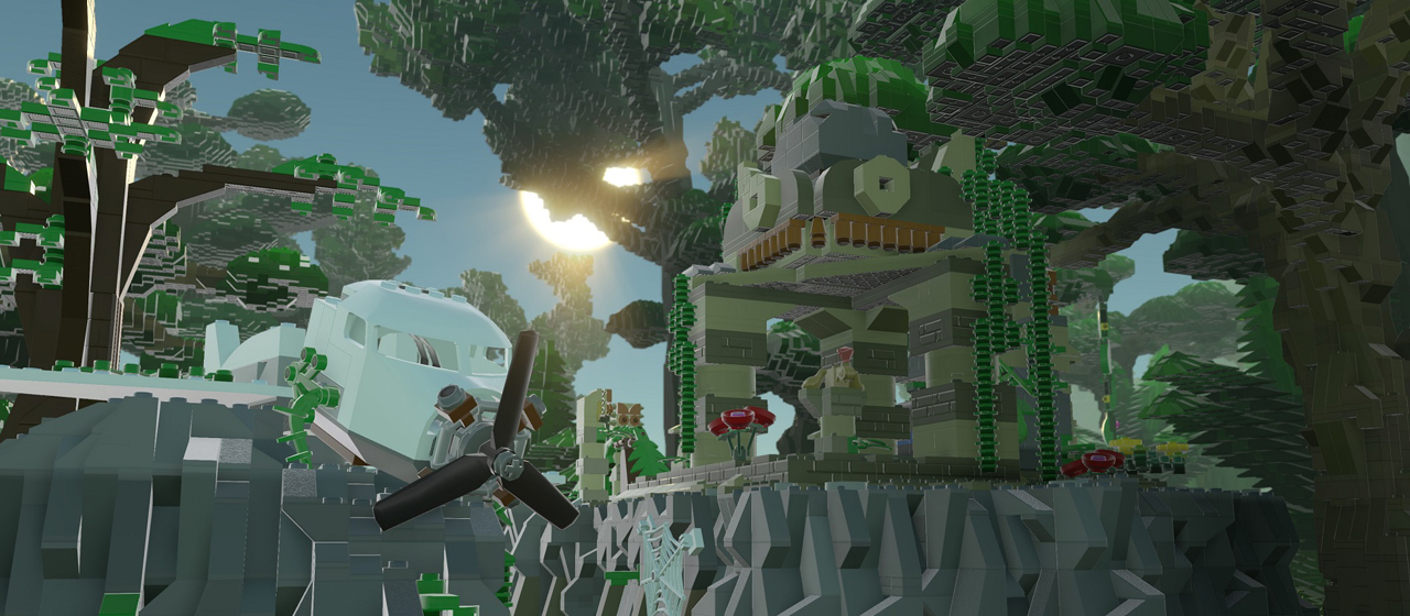 Lego Worlds - Screenshot dal gioco