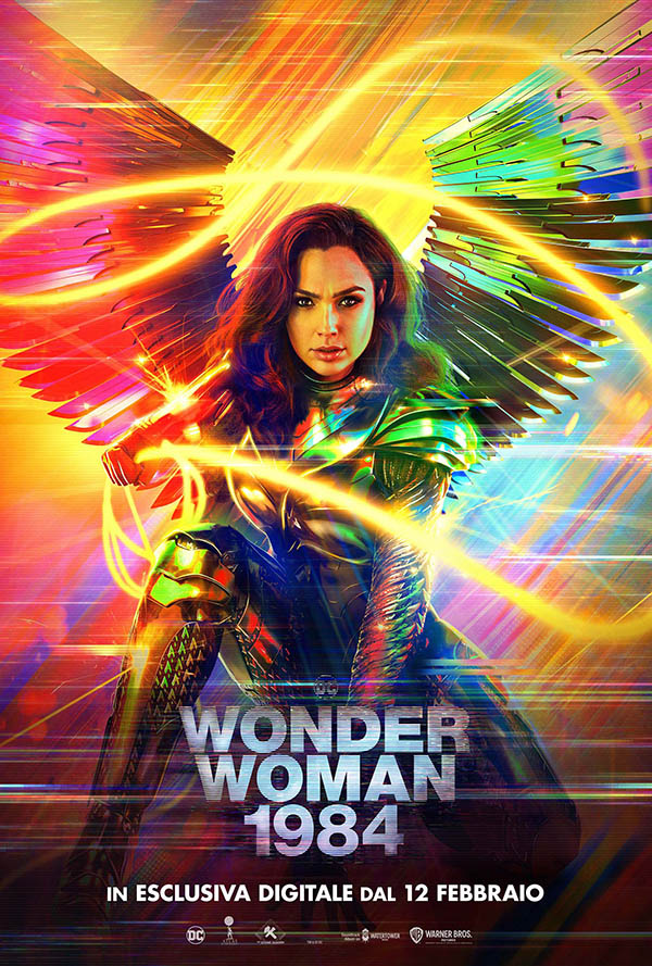 Wonder Woman 1984_Poster Digital Italia