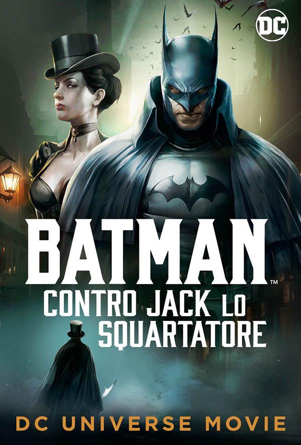 Batman contro Jack lo Squartatore_Poster Italia