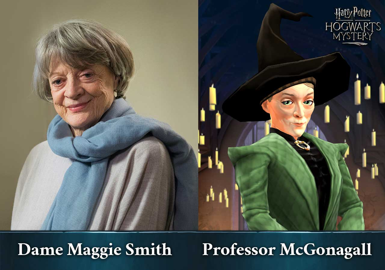 Harry Potter: Hogwarts Mystery - Maggie Smith